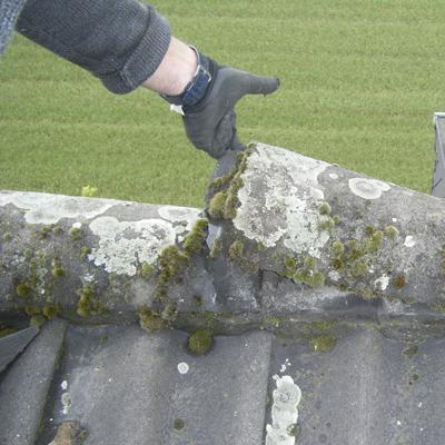 Dach Reparaturarbeiten
