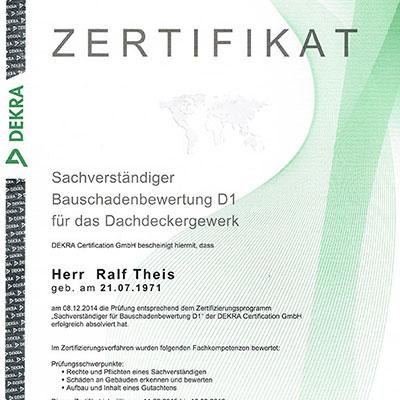 Zertifikate Theis